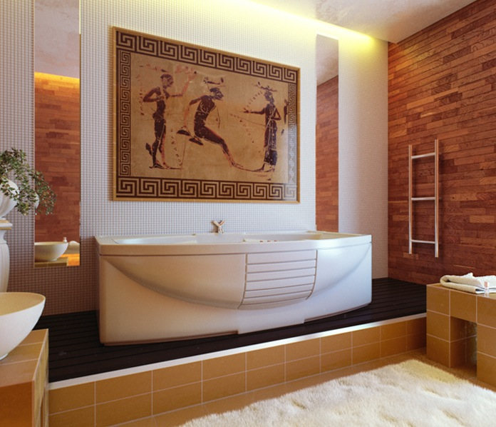 Bathrooms of the world for Bathtub styles