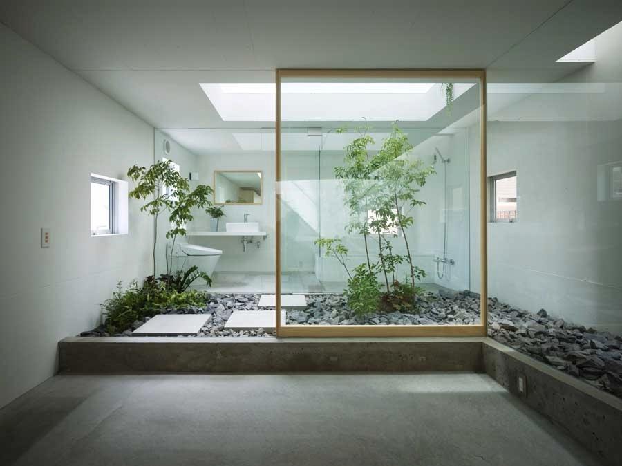 Japanese-style-zen-bathroom-with-courtyard Zen Bathroom Asian Design on salon bathroom, spa bathroom, black zen bathroom, opne zen bedroom to bathroom, white zen bathroom, modern zen bathroom, shabby chic bathroom, contemporary zen bathroom, asian green bathroom, japanese zen bathroom, decorative bathroom,