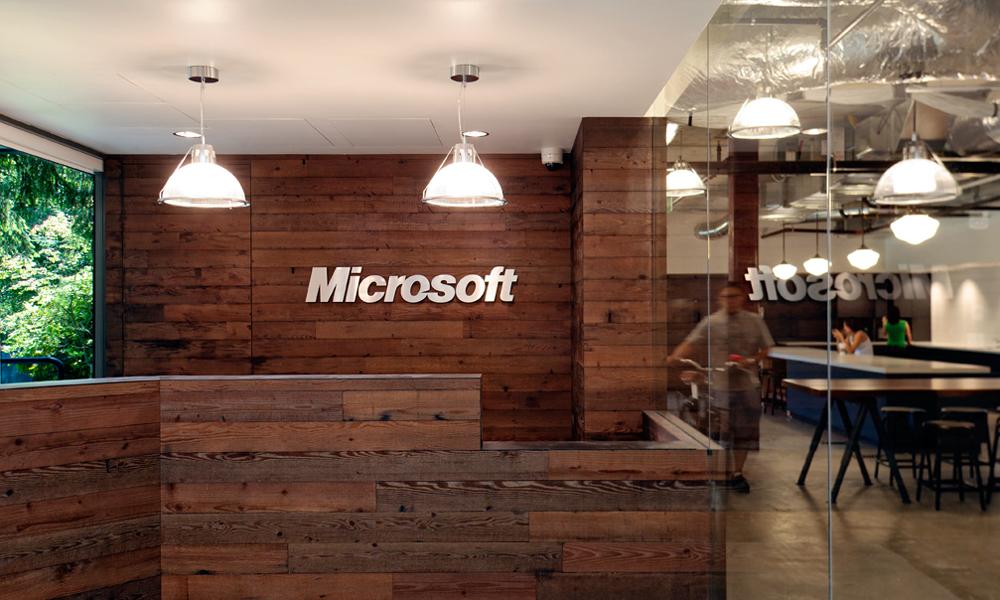 Microsoft Reception Desk