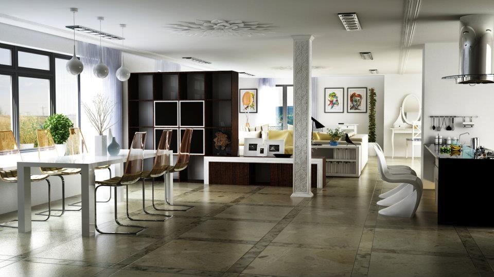 modern open plan living spaceinterior design ideas