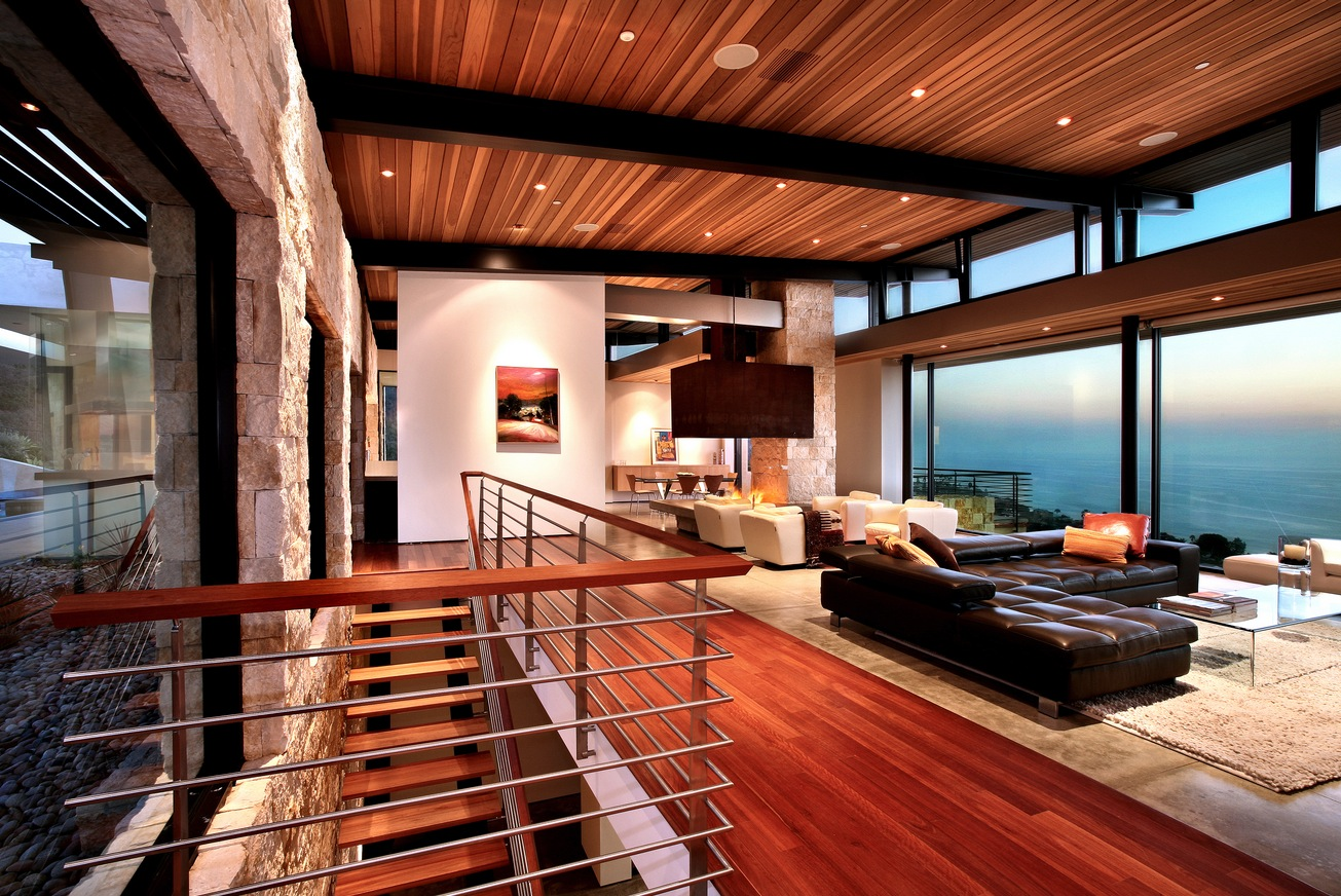 Contemporary Living Rooms: Living Rooms With Great Views