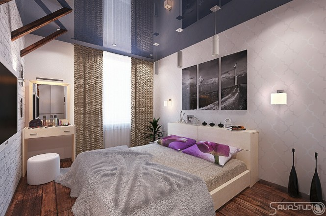 modern purple bedroom modern rooms with a feminine touch 12617