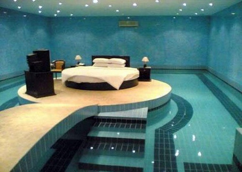 Swimming Pool Bedroom Interior Design Ideas