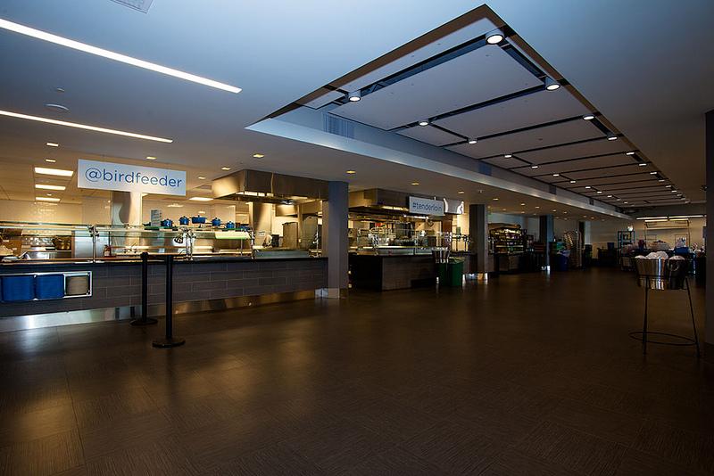 Twitter Birdfeeder Canteen Interior Design Ideas