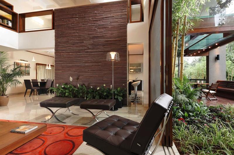 brown red living room interior design ideas. Black Bedroom Furniture Sets. Home Design Ideas