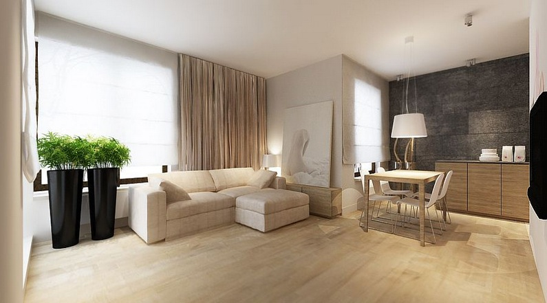 Cream Bedroom Decor: Fresh Neutral Interior Design Schemes From Katarzyna Kraszewska