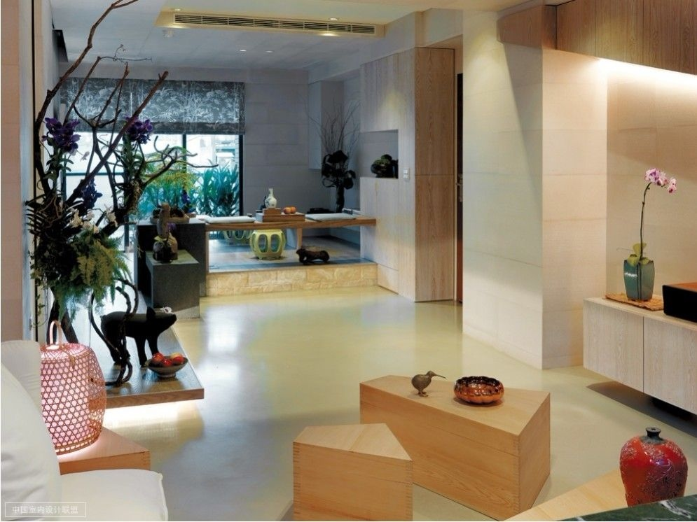 A modern asian minimalistic apartment - Modern apartment interior design ...