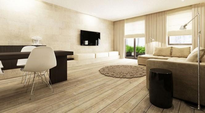 fresh neutral interior design schemes from katarzyna kraszewska. Black Bedroom Furniture Sets. Home Design Ideas