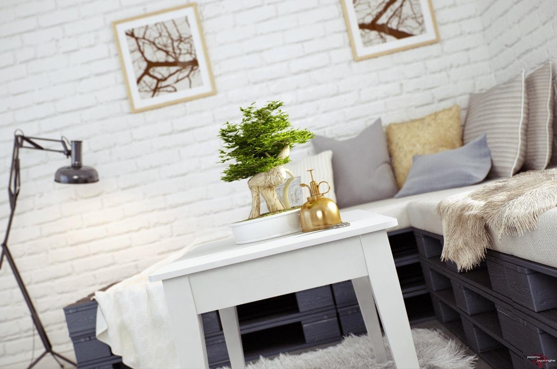 Pallet sofa | Interior Design Ideas.