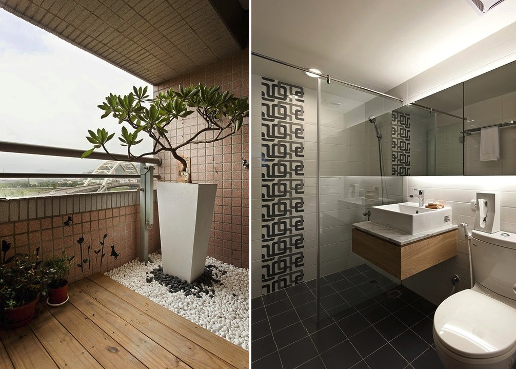 white and wood bathroom interior design ideas