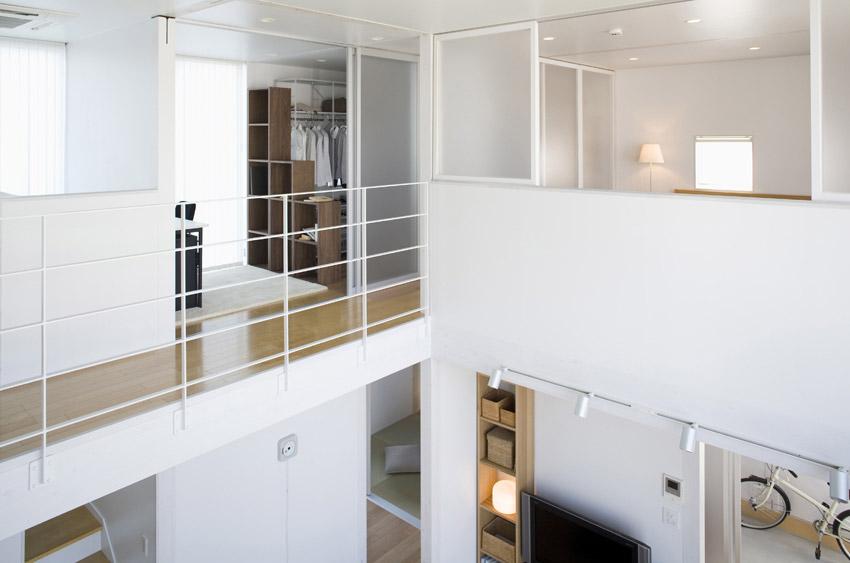 home mezzanine minimalist japanese prefab house