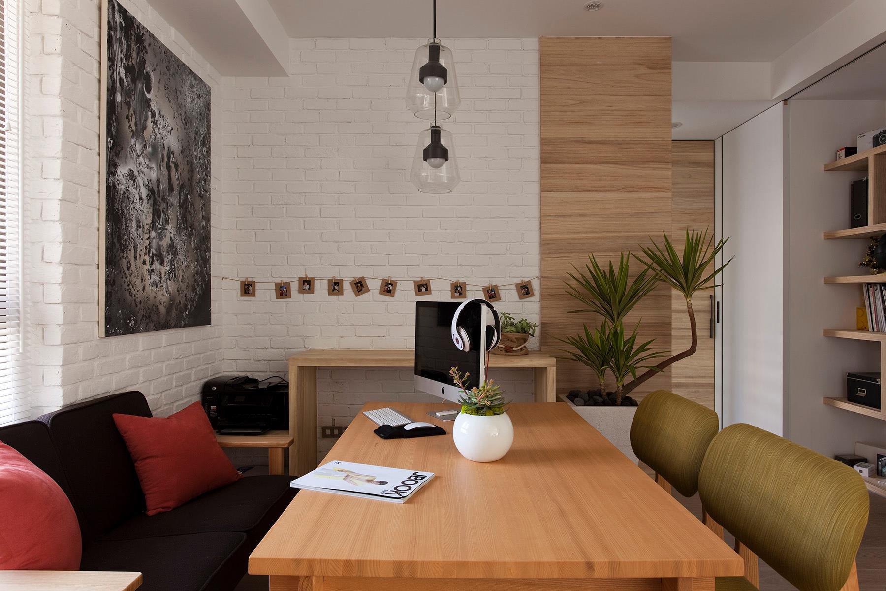 Modern Dining Room Office