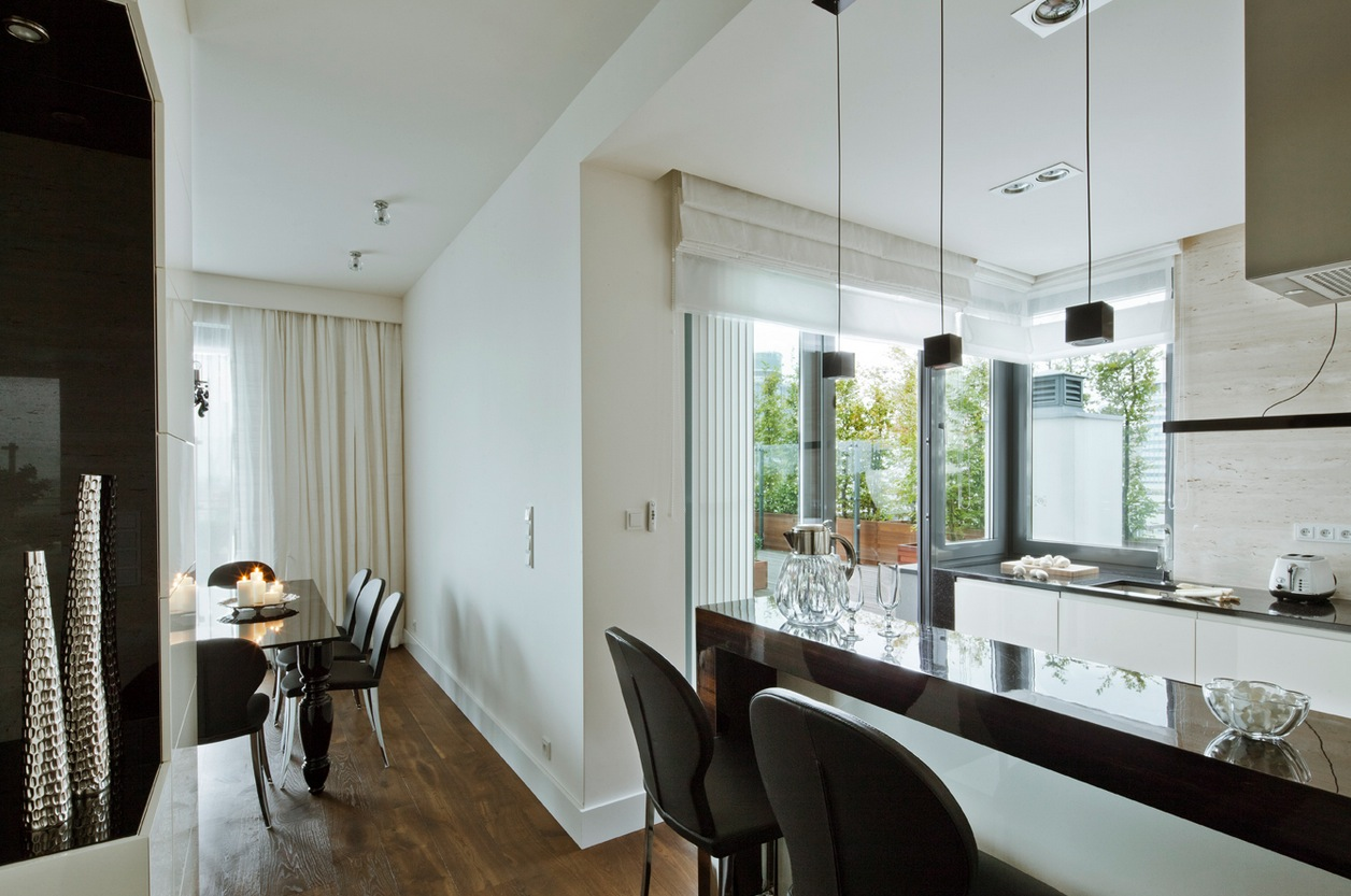 Contemporary Breakfast Bar Interior Design Ideas