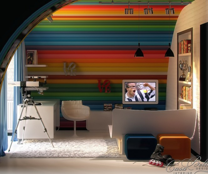 Colorful Kids Room Design: Colorful Kids Rooms