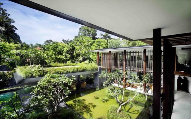 roof planting serene sun house | Serene Sun House