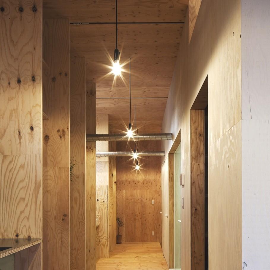 Timber Hallway Interior Design Ideas