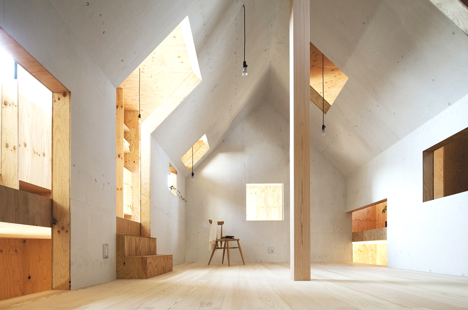 Japanese Minimalism The Ant House