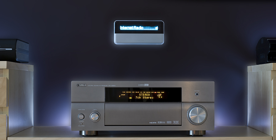 Image Gallery home stereo system setup