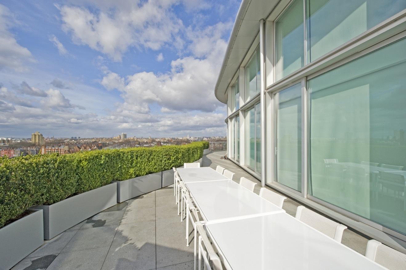 Roof Terrace Interior Design Ideas