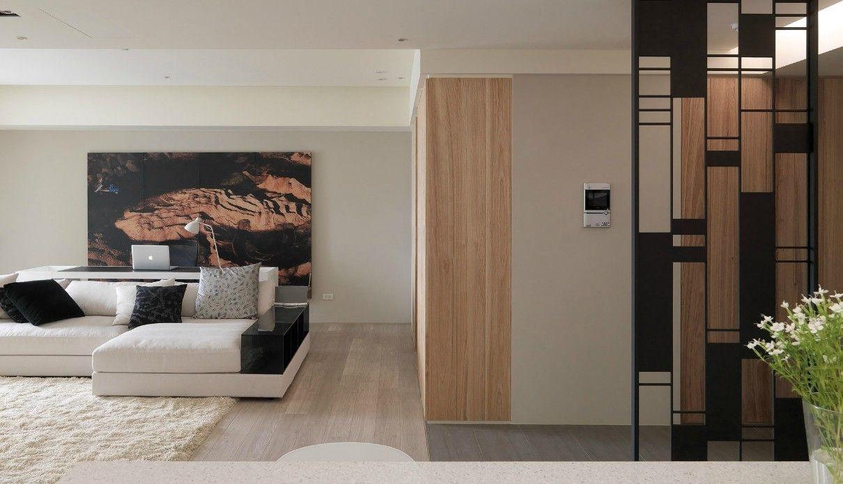 contemporry room divider interior design ideas. Black Bedroom Furniture Sets. Home Design Ideas