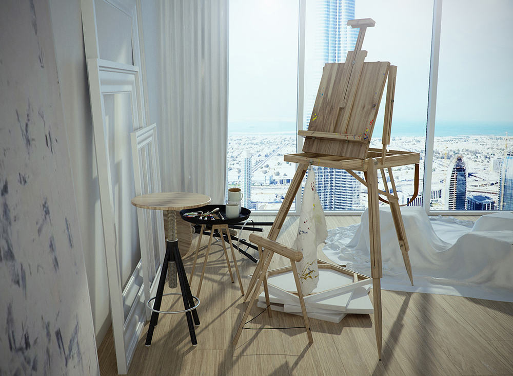 Artists easel | Interior Design Ideas. on Easel Decorating Ideas  id=98370