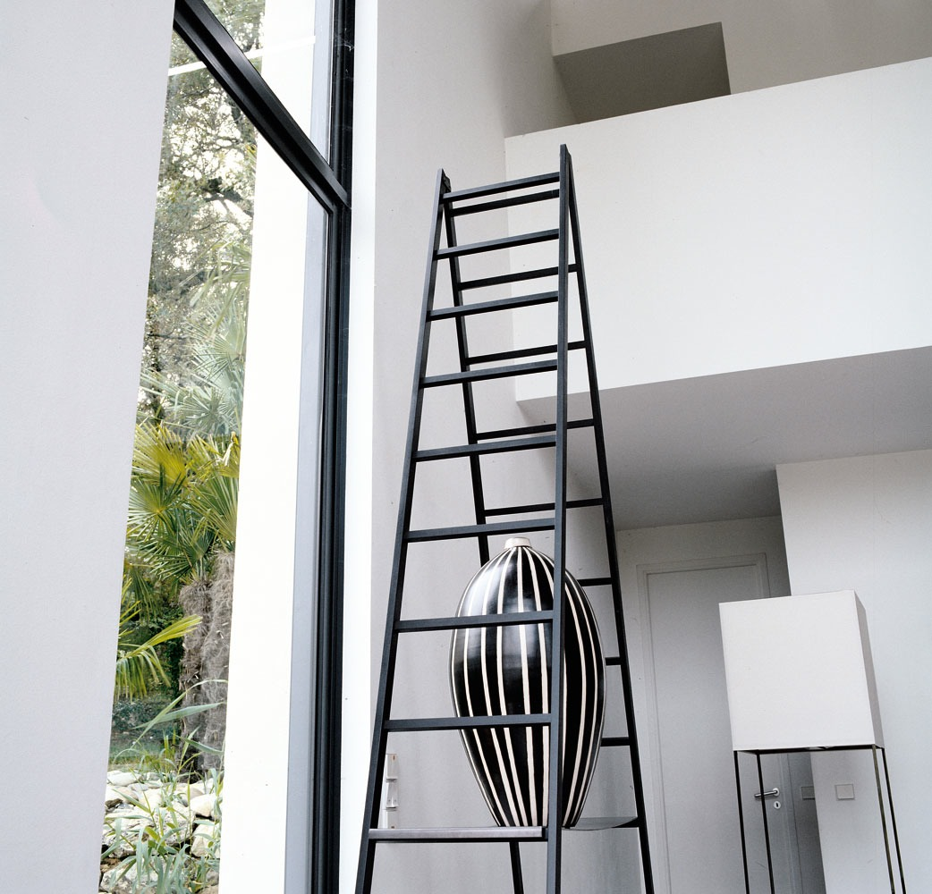 Contemporary Home Style By B B Italia: Black Ladders Modern Vase