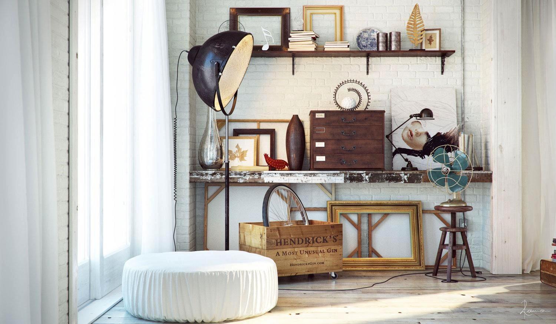 industrial bedrooms with divine detail. Black Bedroom Furniture Sets. Home Design Ideas