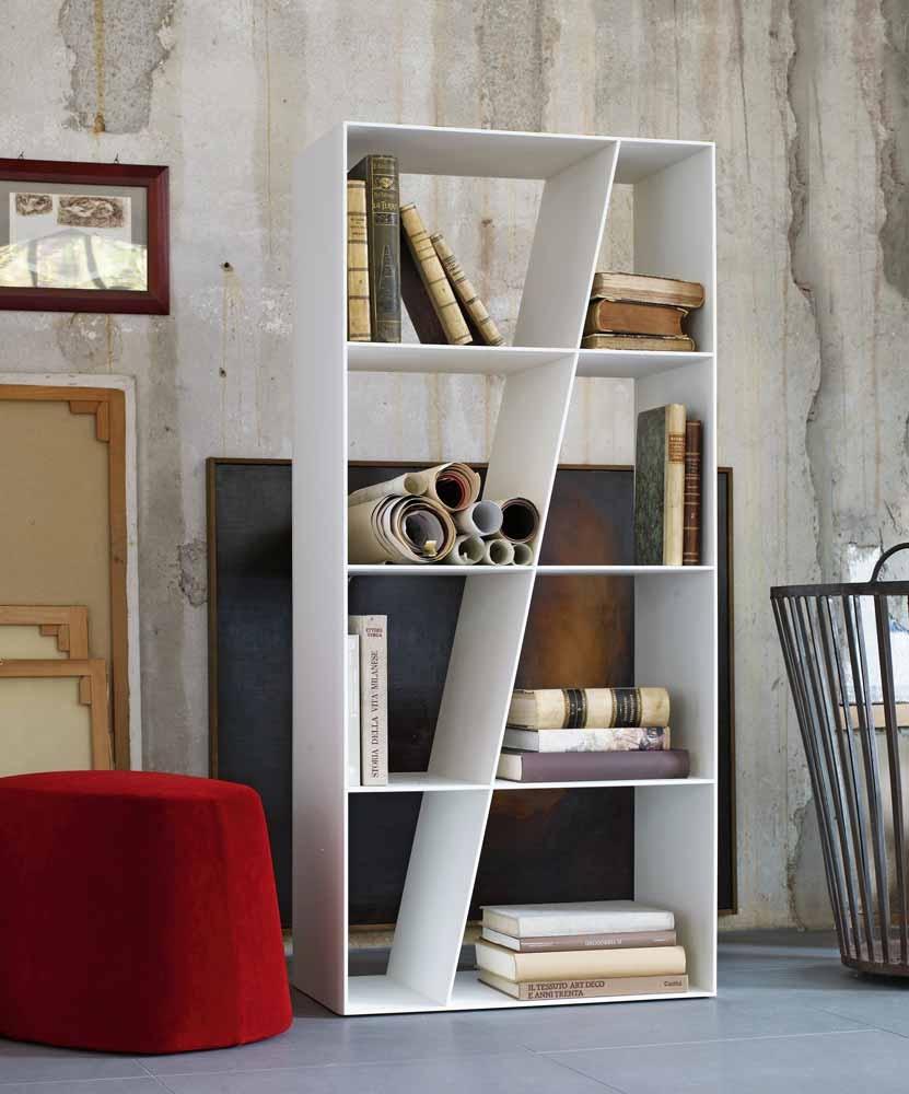 title | White Modern Bookshelf
