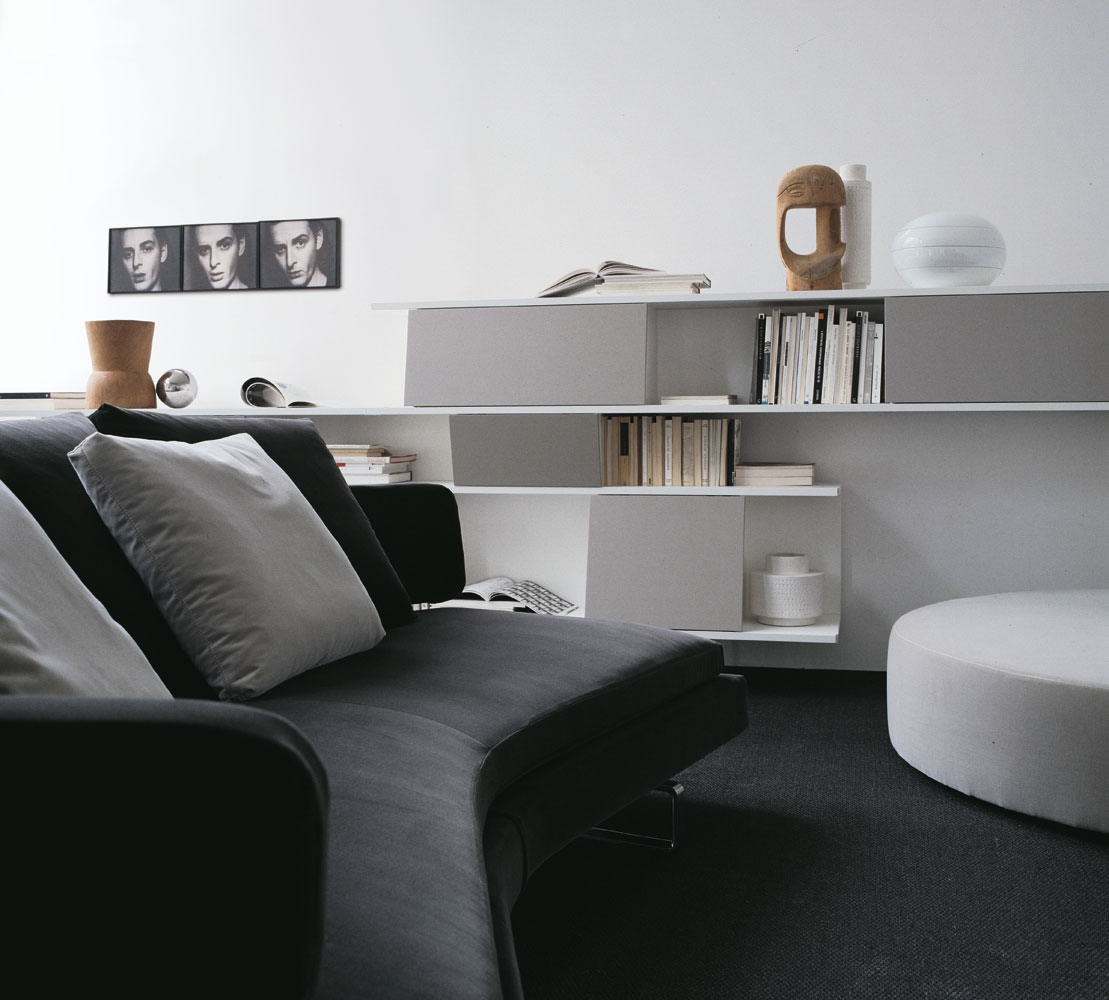 Monochrome Lounge Decor
