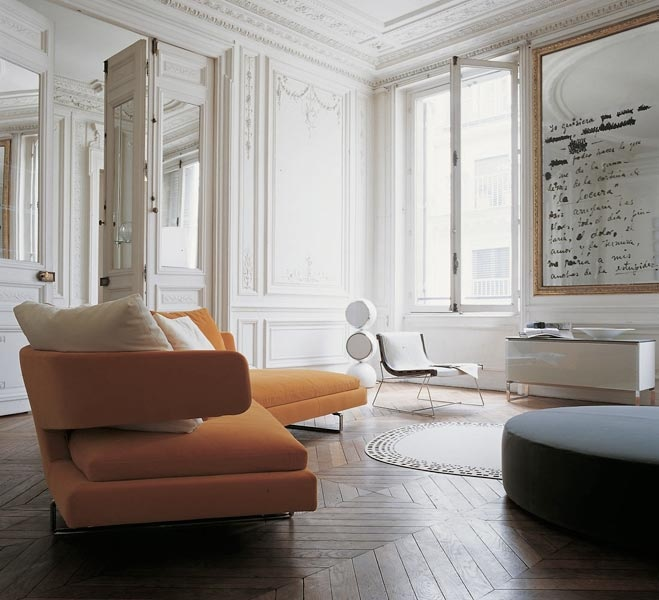 Orange Sofa Interior Design Ideas