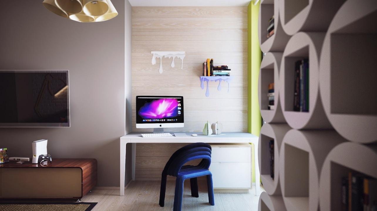 Paint Drip Shelvesinterior Design Ideas
