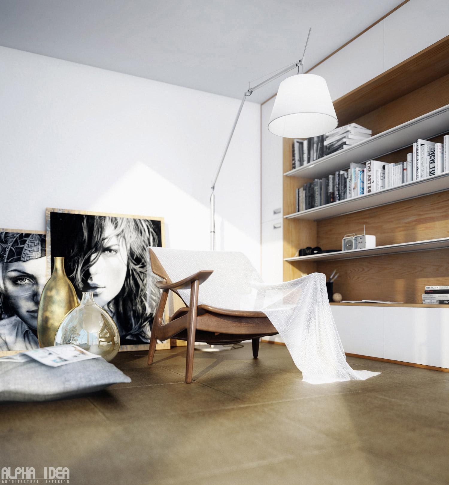 Minimalist Wall Art Scandinavian Design