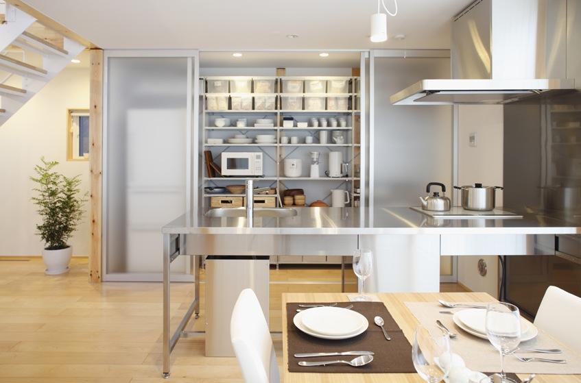 Stainless Steel Kitcheninterior Design Ideas