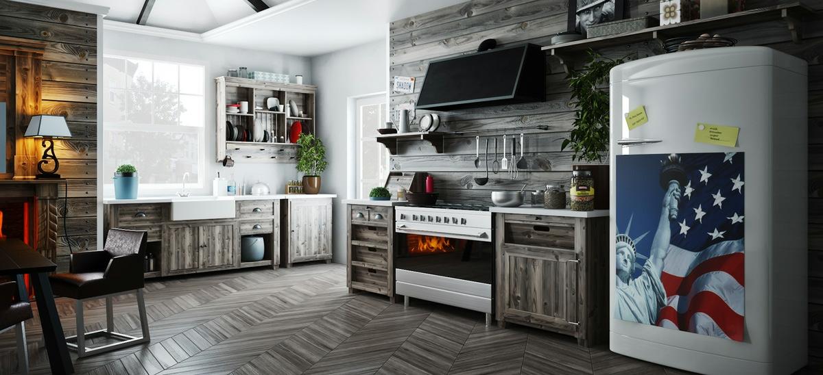 Open Kitchen Shelves Inspiration