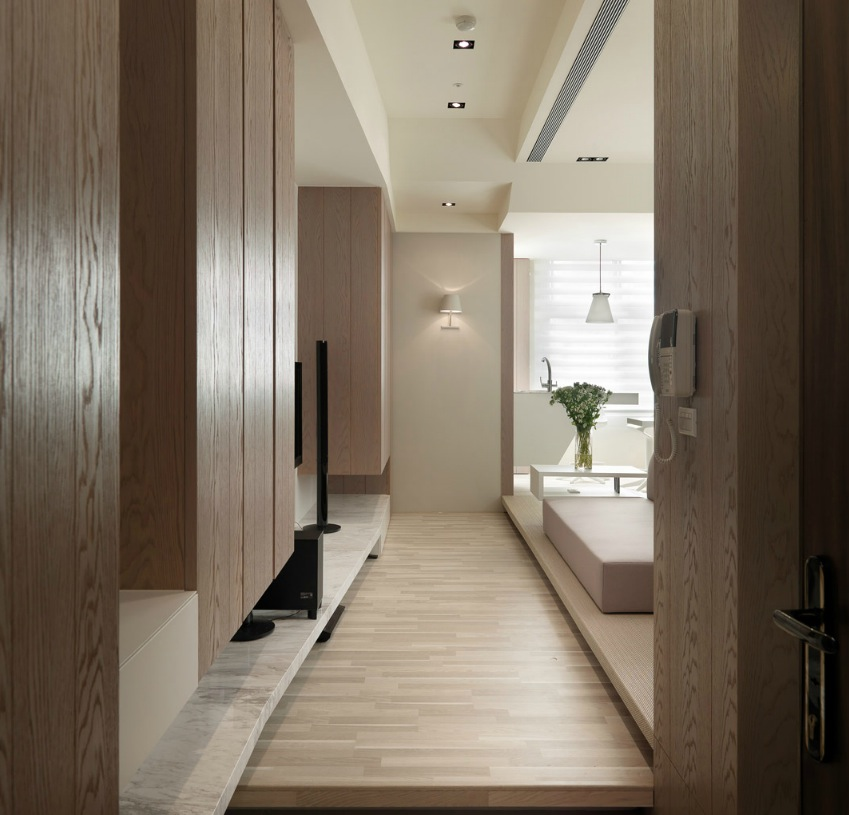 Apartment Solutions: Small Living: Super Streamlined Studio Apartment