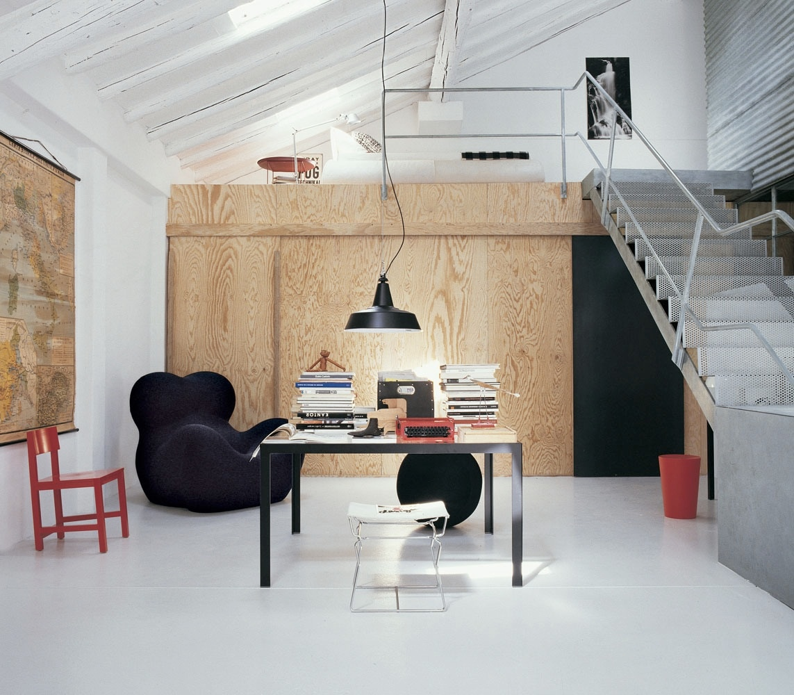 Loft Office Modern Home Design Ideas: Interior Design Ideas