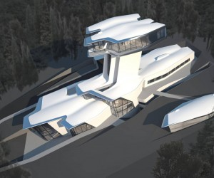 Zaha Hadid Interior Design Ideas