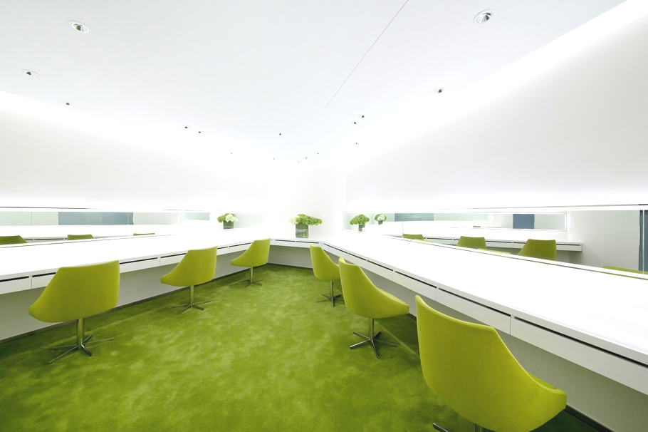 Green Office Inspiration Where Line Meets Lime