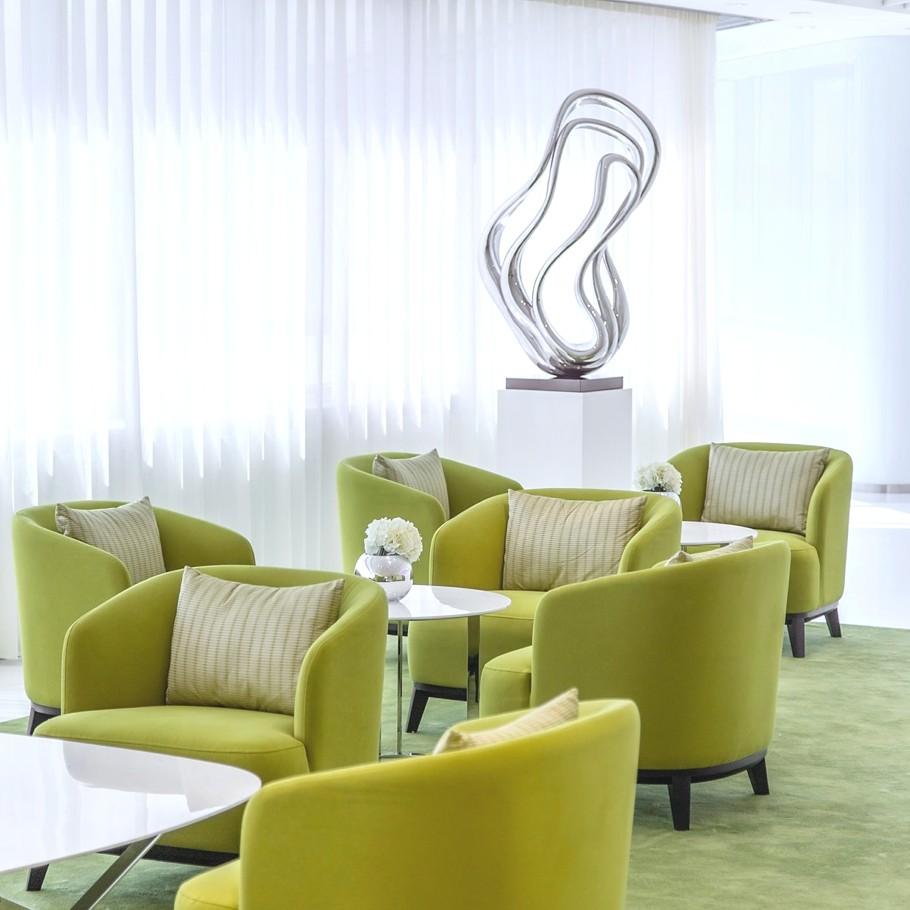 Green Armchairs Interior Design Ideas
