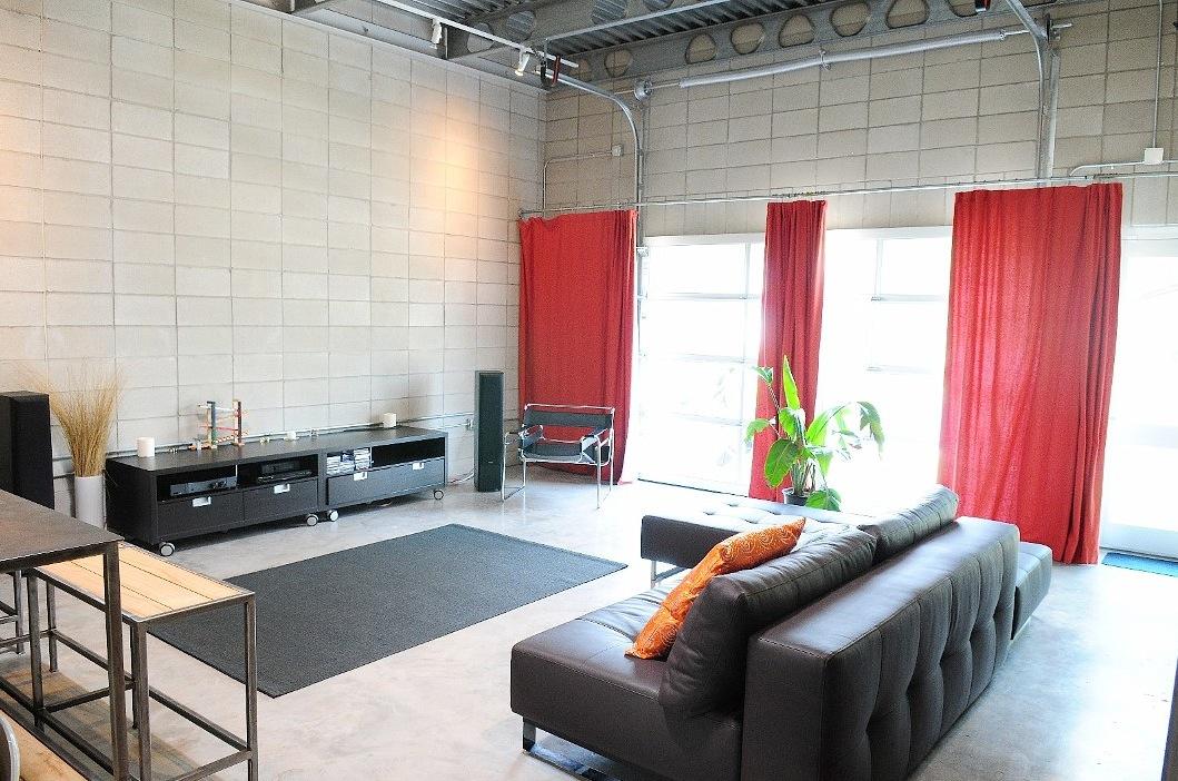White Red Interior Interior Design Ideas