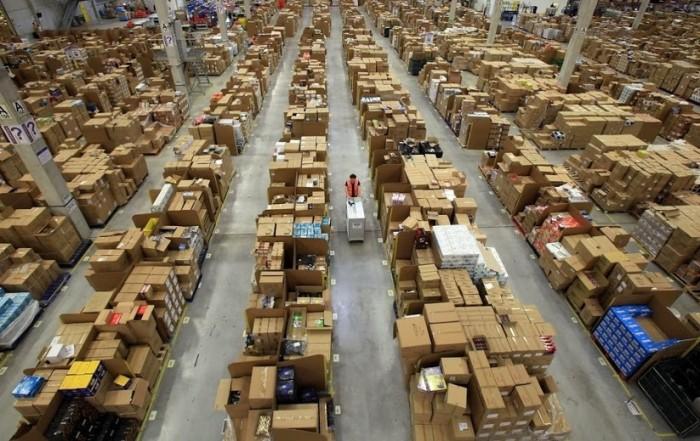 amazon warehouse design