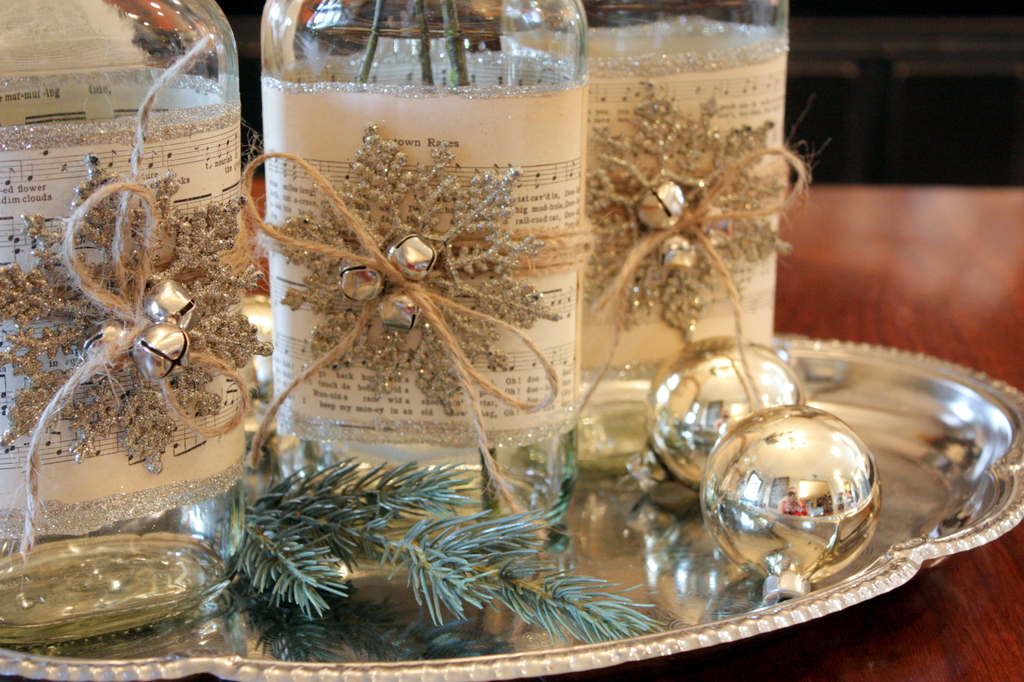 Image of: Christmas Centerpieces