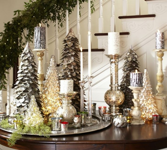 Table Centerpieces For Home: Christmas Centerpieces
