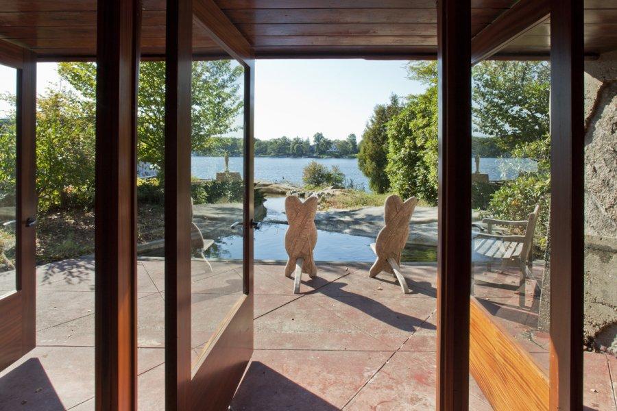 House Overlooking Lake Mahopac Ny Interior Design Ideas