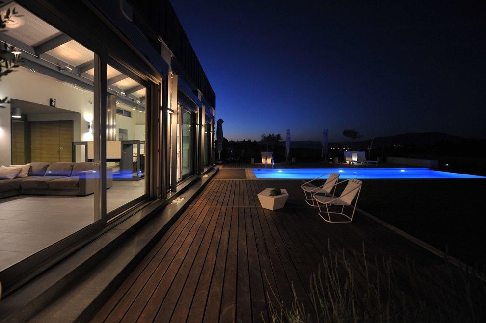Stunning modern family residence in thiva greece