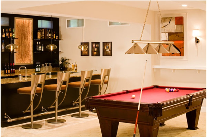 30 basement remodeling ideas inspiration - Home game room ideas ...