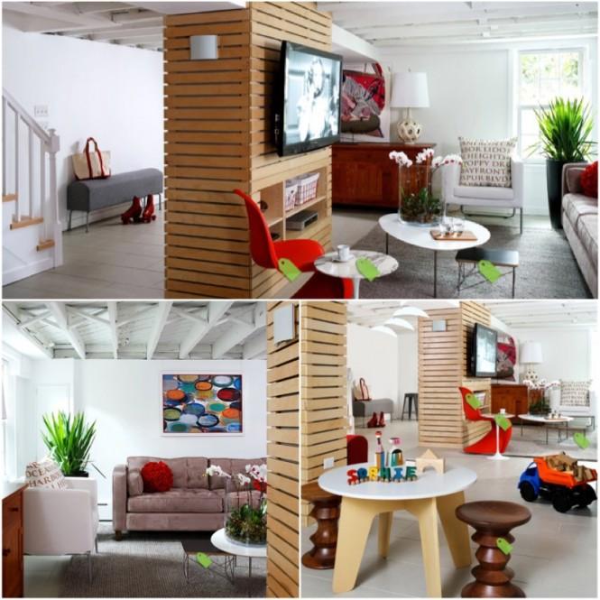 Living Space Basement Remodel 10