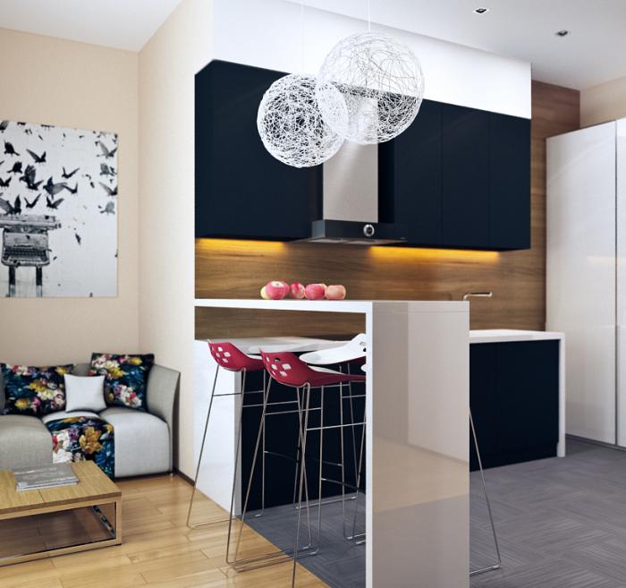 Burford Place Open Plan Kitchen With Breakfast Bar Island: 12 Modern Eat-In Kitchen Designs