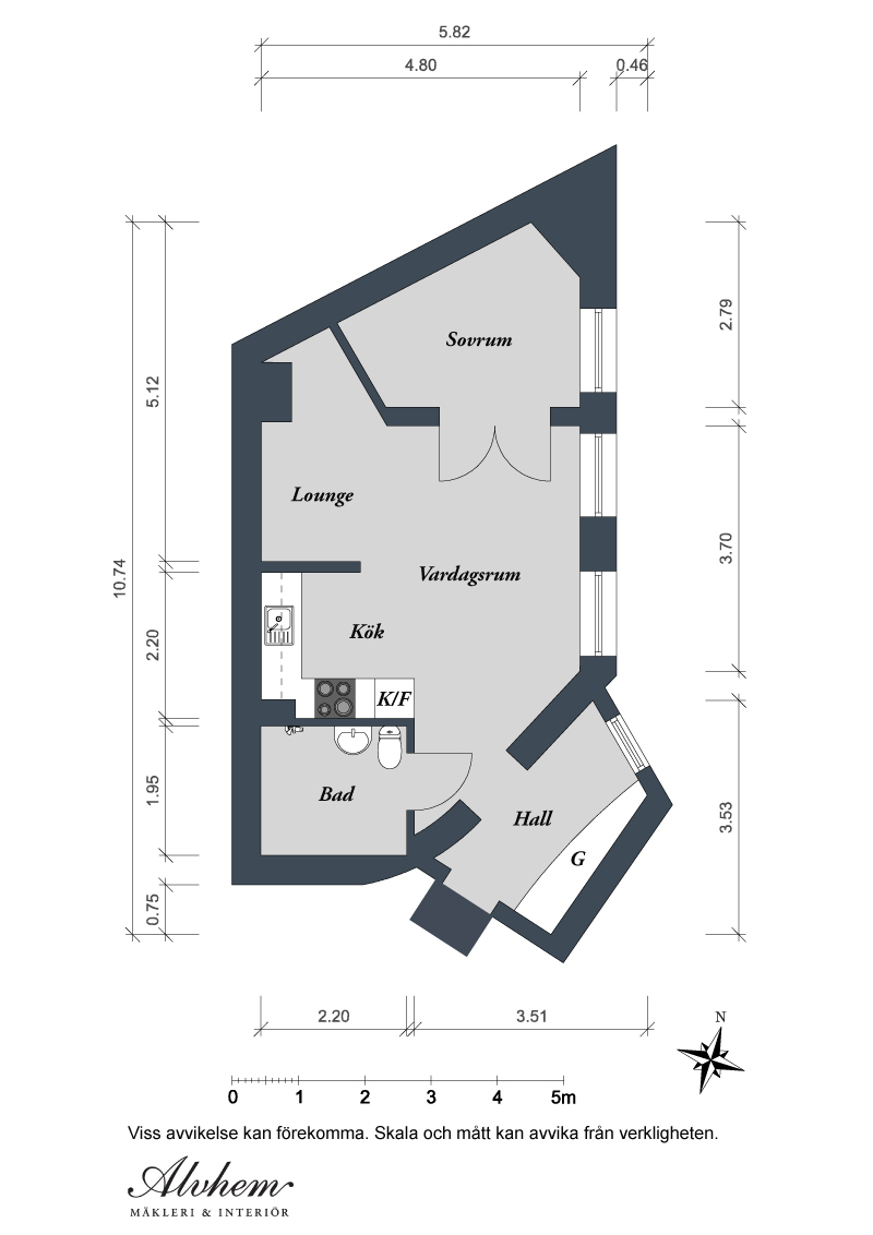 Swedish white heirloom apartment - Apartment designs and floor plans ...