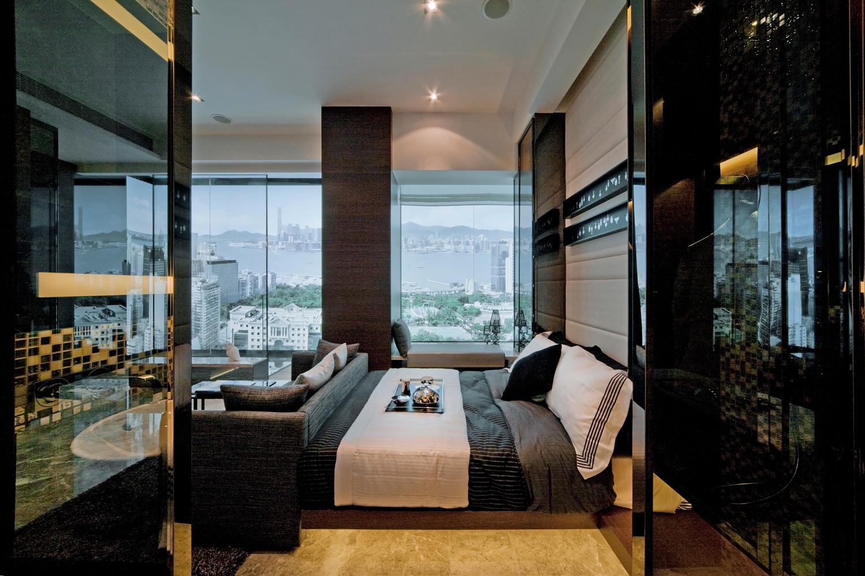 cool contrast apartment window bedroom steve leung